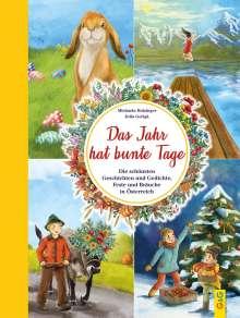 Michaela Holzinger: Das Jahr hat bunte Tage, Buch