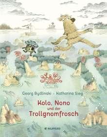 Georg Bydlinski: Kolo, Nono und der Trollgnomfrosch, Buch
