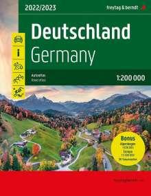 Deutschland, Autoatlas 1:200.000, Buch