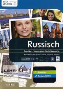 Strokes Russisch 1+2 Einsteiger/Fortgeschritten, Version 5.0, CD-ROM, CD-ROM