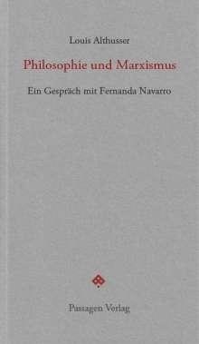 Louis Althusser: Philosophie und Marxismus, Buch