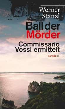 Werner Stanzl: Ball der Mörder, Buch