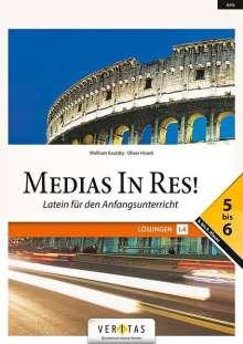 Wolfram Kautzky: Medias in res! AHS: 5. bis 6. Klasse - Lösungen 5-6, Buch