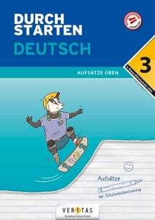Jutta Hofer: Durchstarten 3. Klasse - Deutsch Mittelschule/AHS - Aufsätze, Buch