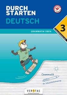 Vera Igler: Durchstarten 3. Klasse - Deutsch Mittelschule/AHS - Grammatik, Buch