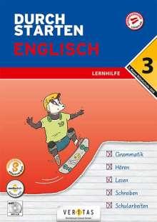 Franz Zach: Durchstarten 3. Klasse - Englisch Mittelschule/AHS - Lernhilfe, Buch