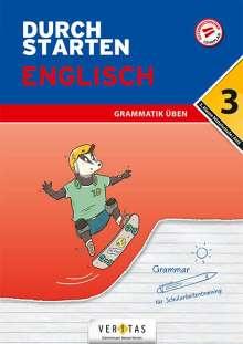 Franz Zach: Durchstarten 3. Klasse - Englisch Mittelschule/AHS - Grammatik, Buch