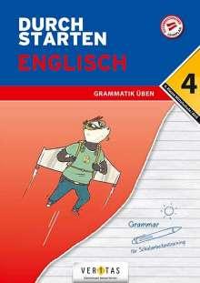Franz Zach: Durchstarten 4. Klasse - Englisch Mittelschule/AHS - Grammatik, Buch