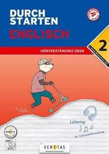 Nicole Eisinger-Müllner: Durchstarten 2. Klasse - Englisch Mittelschule/AHS - Lesen und Schreiben, Buch