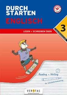 Nicole Eisinger-Müllner: Durchstarten 3. Klasse - Englisch Mittelschule/AHS - Lesen und Schreiben, Buch