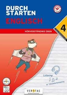 Nicole Eisinger-Müllner: Durchstarten 4. Klasse - Englisch Mittelschule/AHS - Hörverständnis, Buch