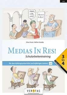 Oliver Hissek: Medias in res! AHS: 3. bis 4. Klasse - Schularbeitentraining für das sechsjährige Latein, Buch