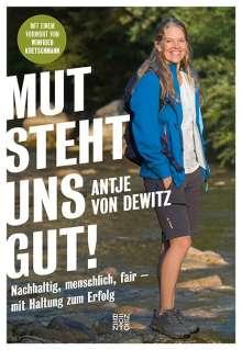 Antje von Dewitz: Mut steht uns gut!, Buch