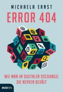 Michaela Ernst: Error 404, Buch