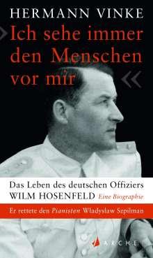 """Hermann Vinke: """"Ich sehe immer den Menschen vor mir"""", Buch"""