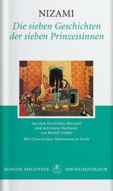 Nizami: Die sieben Geschichten der sieben Prinzessinnen, Buch