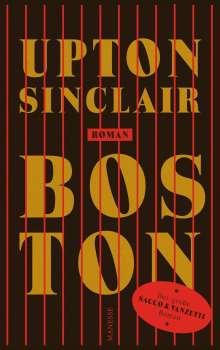 Upton Sinclair: Boston, Buch