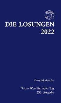 Die Losungen für Deutschland 2022 - Terminkalender, Buch