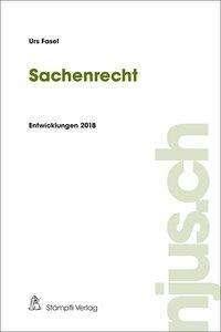 Urs Fasel: Sachenrecht, Buch