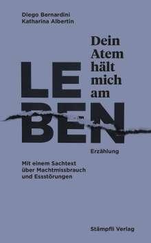 Diego Bernardini: Dein Atem hält mich am Leben, Buch