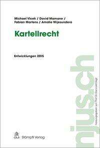 Michael Vlcek: Kartellrecht, Buch