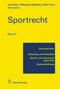 Eva Gut: Sportrecht 2, Buch