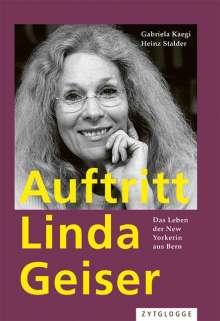 Gabriela Kaegi: Auftritt Linda Geiser, Buch