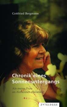 Gottfried Bergmann: Chronik eines Sonnenuntergangs, Buch