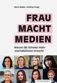 Nora Bader: Frau Macht Medien, Buch