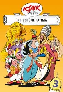 Lothar Dräger: Mosaik von Hannes Hegen: Die schöne Fatima, Bd. 3, Buch