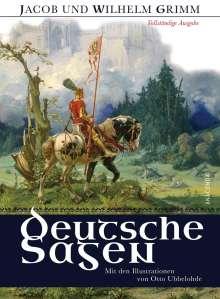 Jacob Grimm: Deutsche Sagen - Vollständige Ausgabe, Buch