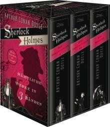 Arthur Conan Doyle: Sherlock Holmes - Sämtliche Werke in drei Bänden, Buch