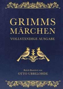 Jacob Grimm: Grimms Märchen - vollständig und illustriert(Cabra-Lederausgabe), Buch
