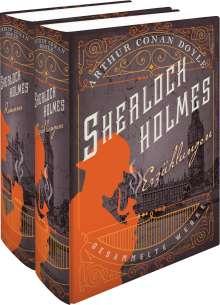 Arthur Conan Doyle: Sherlock Holmes - Gesammelte Werke in zwei Bänden, Buch