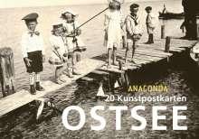 Anaconda: Postkartenbuch Ostsee, Buch