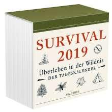 Dave Canterbury: Survival 2019 - Überleben in der Wildnis, Tageskalender, Diverse