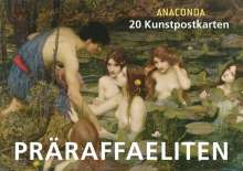 Anaconda: Postkartenbuch Präraffaeliten, Buch