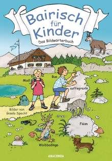 Detlef Reich: Bairisch für Kinder, Buch