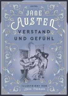Jane Austen: Verstand und Gefühl (illustriert), Buch