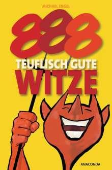 Michael Engel: 888 teuflisch gute Witze, Buch