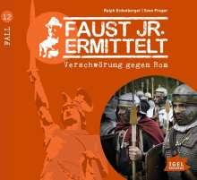 Ralph Erdenberger: Faust jr. ermittelt 12: Verschwörung gegen Rom, CD