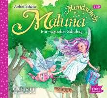 Maluna Mondschein. Ein magischer Schultag, 2 CDs