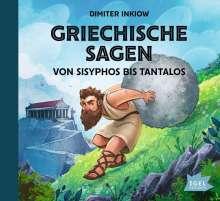 Griechische Sagen.Von Sisyphos bis Tantalos, 2 CDs