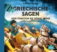 Griechische Sagen.Von Phaeton bis König Midas, 2 CDs