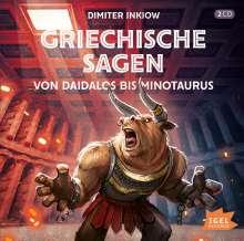 Griechische Sagen-Von Daidalos bis Minotaurus, 2 CDs