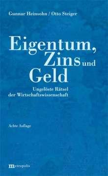 Gunnar Heinsohn: Eigentum, Zins und Geld, Buch