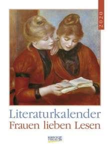 Literaturkalender Frauen lieben Lesen 2020, Diverse