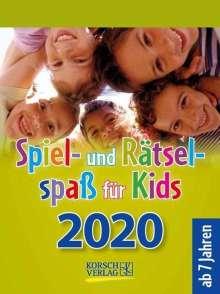 Spiel- und Rätselspaß für Kids 2020, Diverse