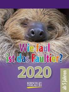 Wie faul ist das Faultier? 2020, Diverse