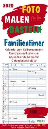 Foto-Malen-Basteln Familientimer 2020, Diverse